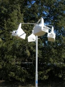 10' Telescoping Bird House/Feeder Pole