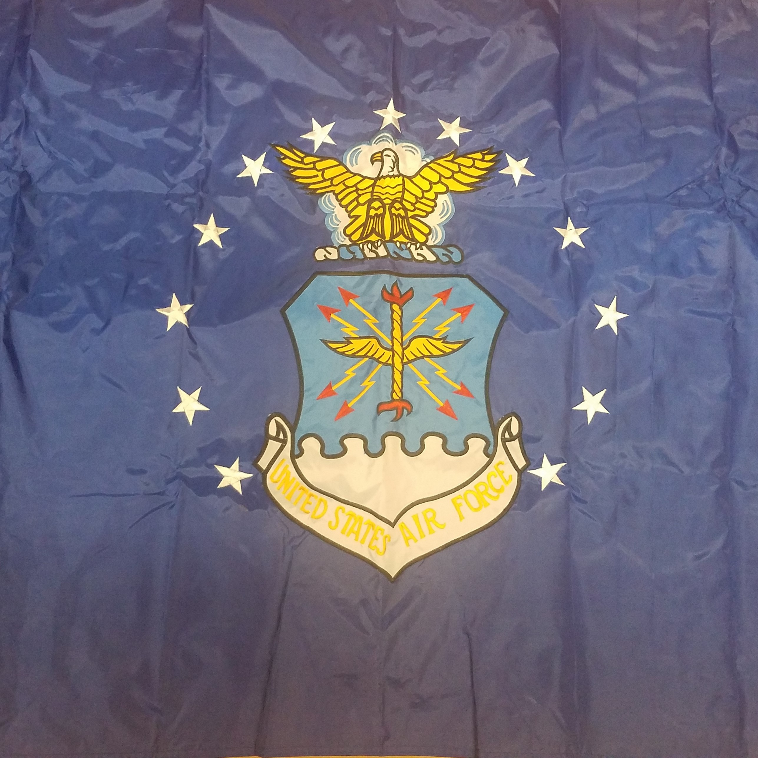 3'x5'  Embroidered Double Air Force