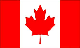 Canada Nylon flag 3x5 ft