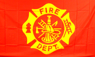 Fire Department 3'x5' Double Sided Nylon
