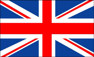 United Kingdom 3'x5' Flag