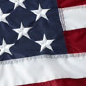 5'x8' 600D Polyester USA Flag - Embroidered