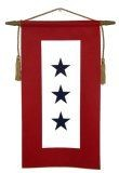 Blue Star in Service Banner (3 Stars)