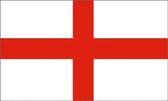 England - St. George's Cross - 3x5 ft